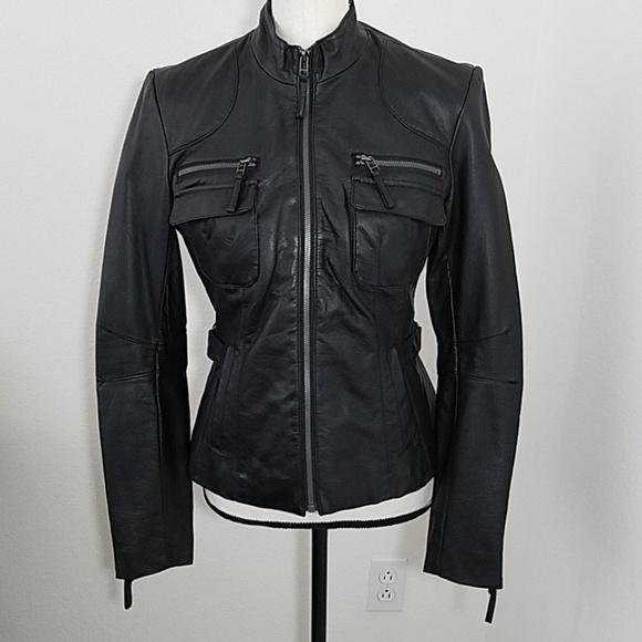 New York & Company Jackets & Blazers - New York & Company Moto Jacket